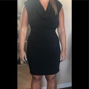 Michael Kors Dresses - Michael Kors Black Draped Dress
